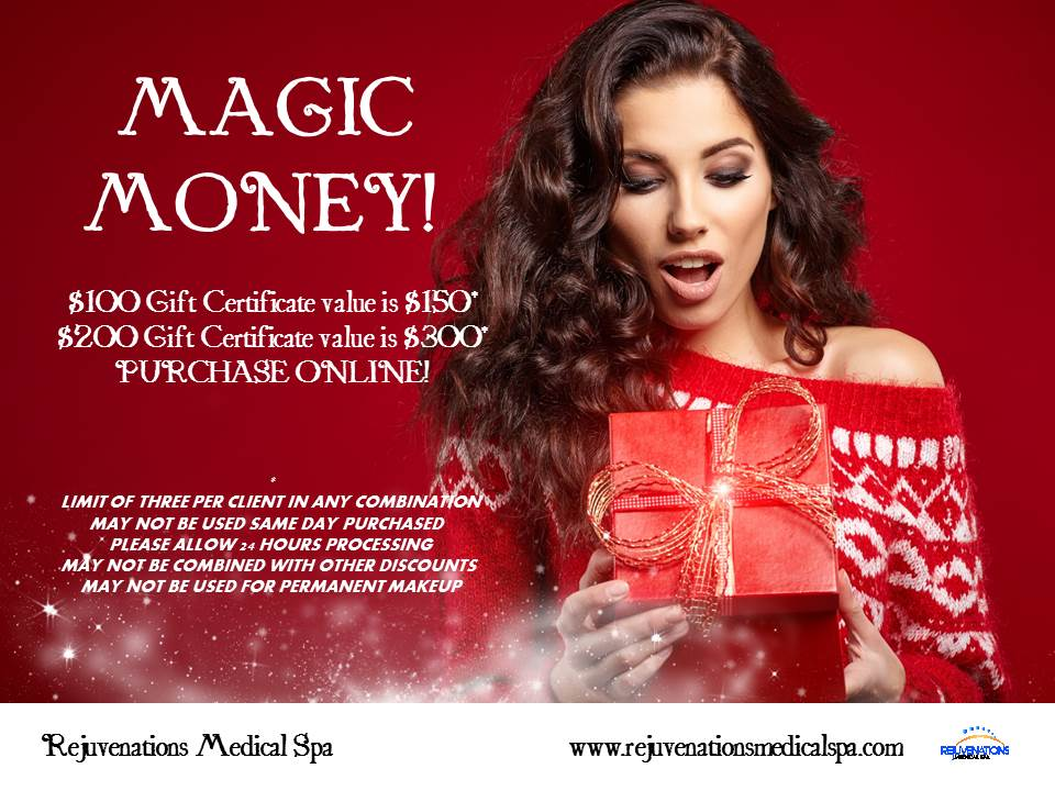 CHRISTMAS GIFT CERTIFICATE DISCOUNTED