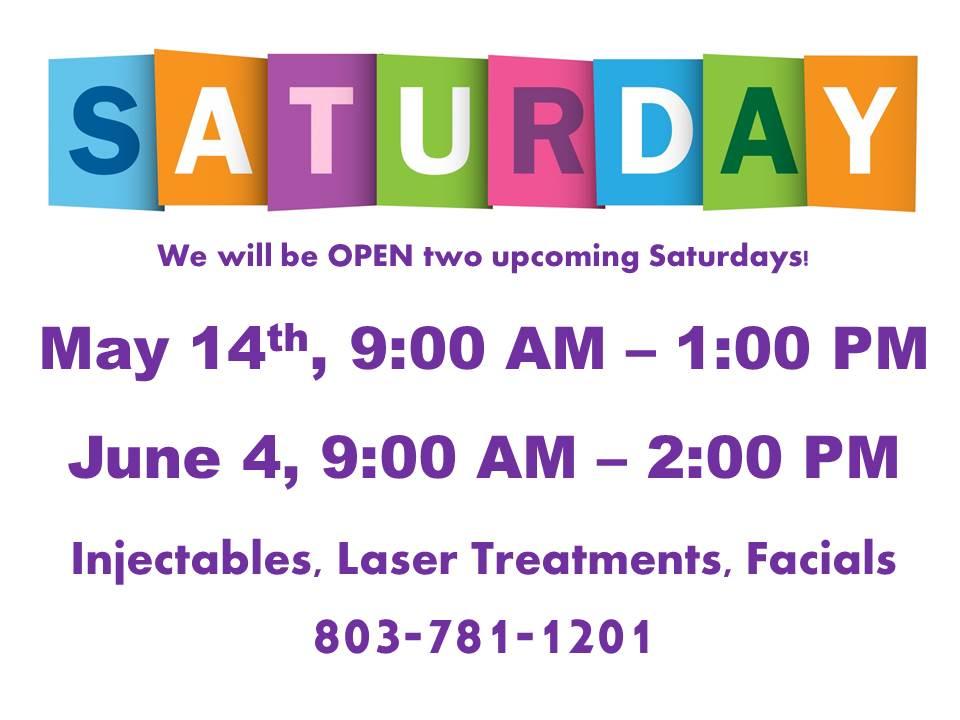 Saturday opening
